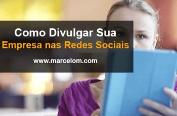 Venda pelas redes Sociais